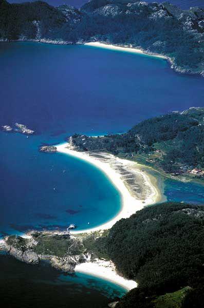 Las Islas Cies (Galicia, Spania)